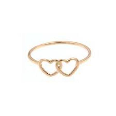 anello doppio cuore