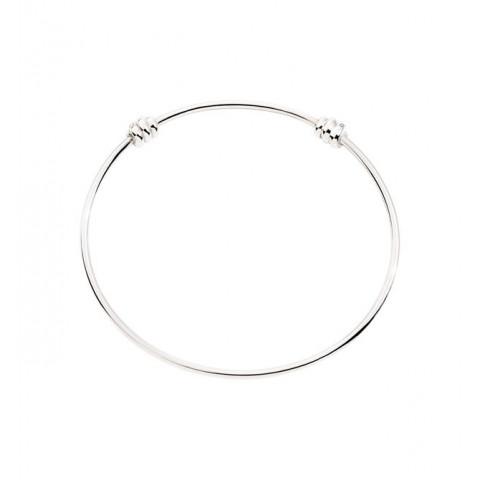 bracciale nodo argento 2